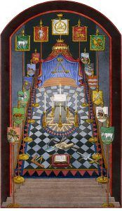 Holy Royal Arch Tracing Board Provincial Grand Chapter